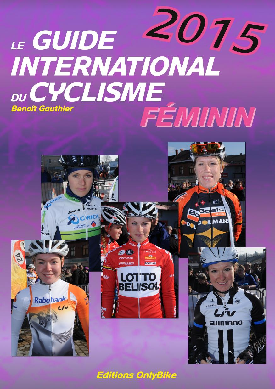Couverture Guide International du Cyclisme Féminin 2015