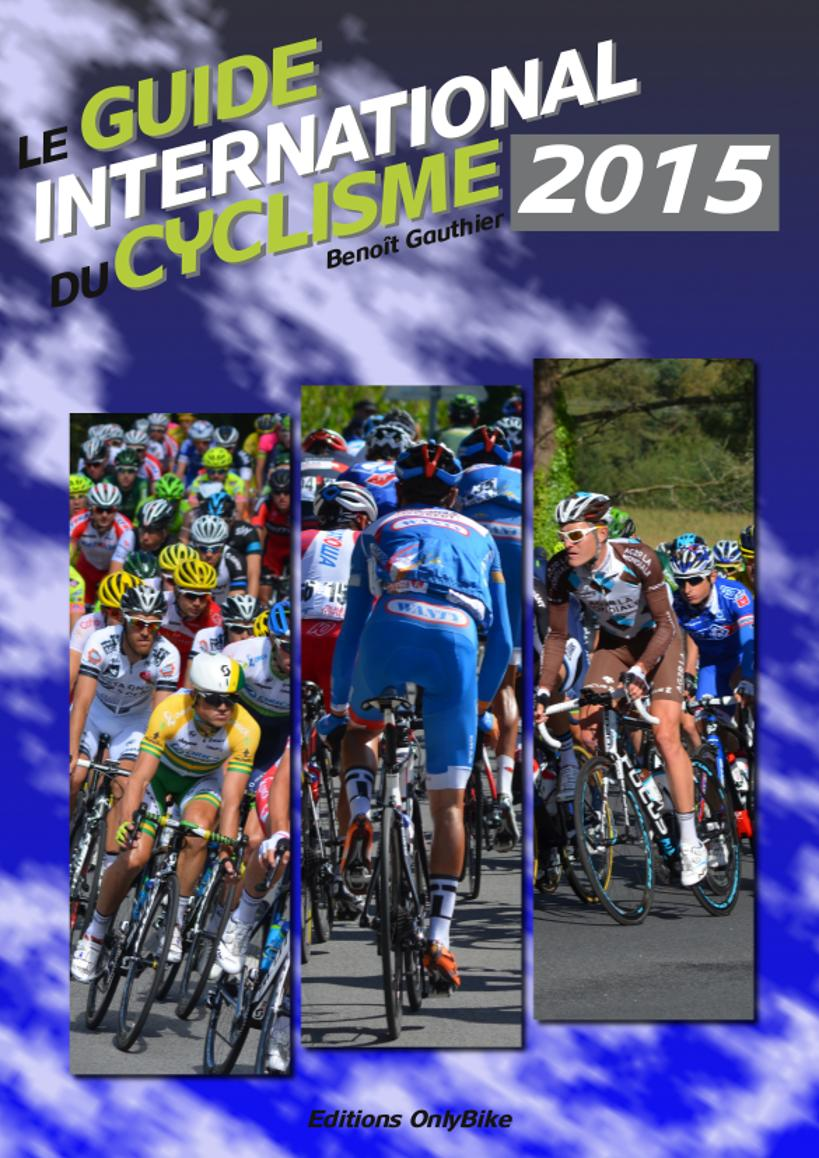 Couverture Guide International du Cyclisme 2015