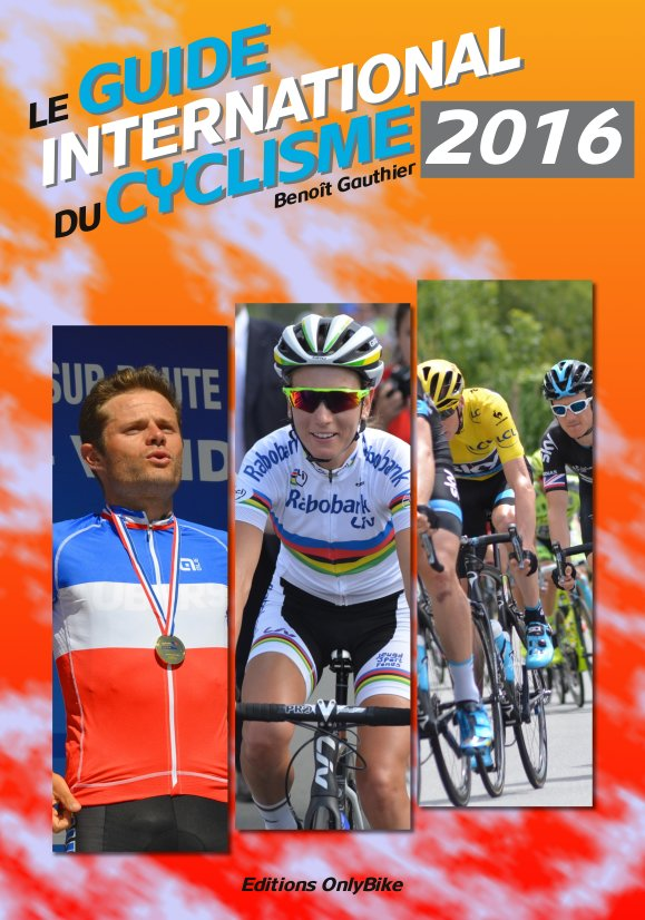 Couverture Guide International du Cyclisme 2016
