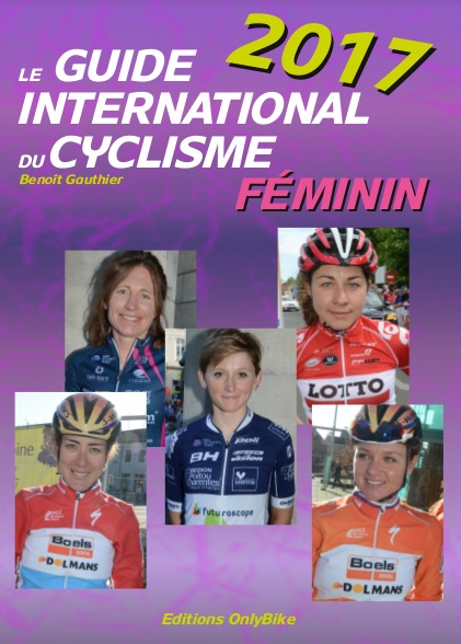 Couverture Guide International du Cyclisme Féminin 2017