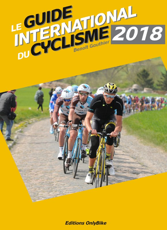Couverture Guide International du Cyclisme 2018