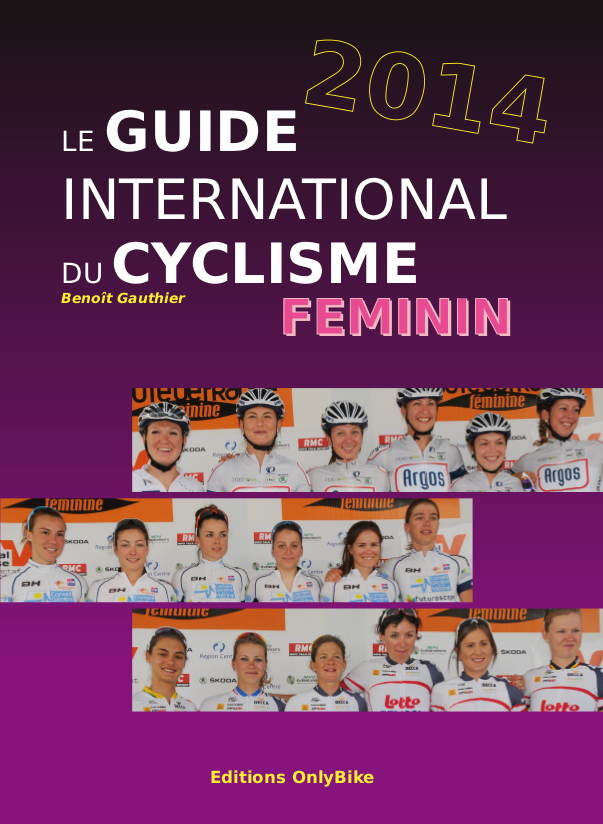 Couverture du Guide International du Cyclisme Féminin 2014
